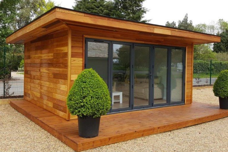 Garden Room close up showing the SIPs